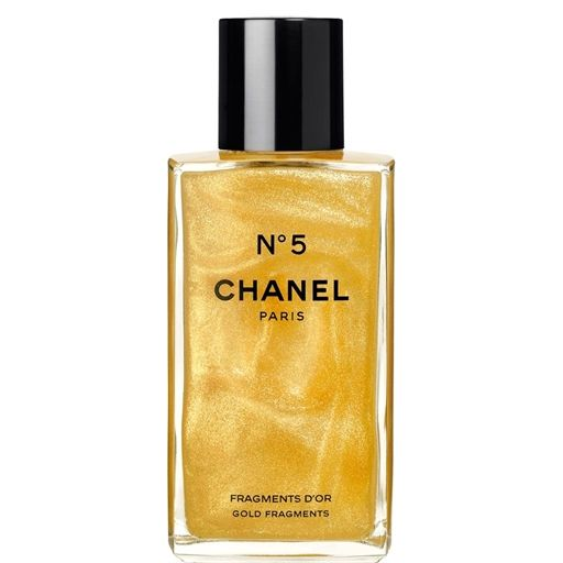 Chanel No5 Fragments D'Or Gold Fragments Limited Edition