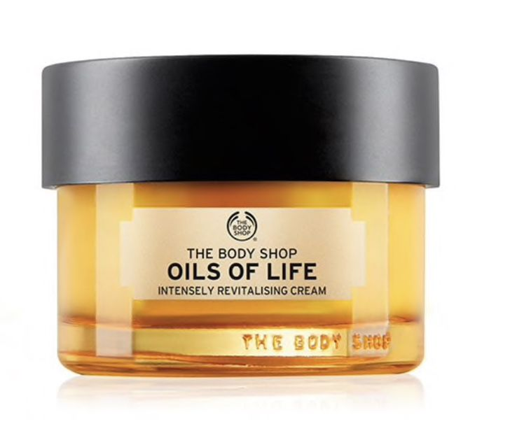 The Body Shop: Oils Of Life Intensely Revitalising Cream