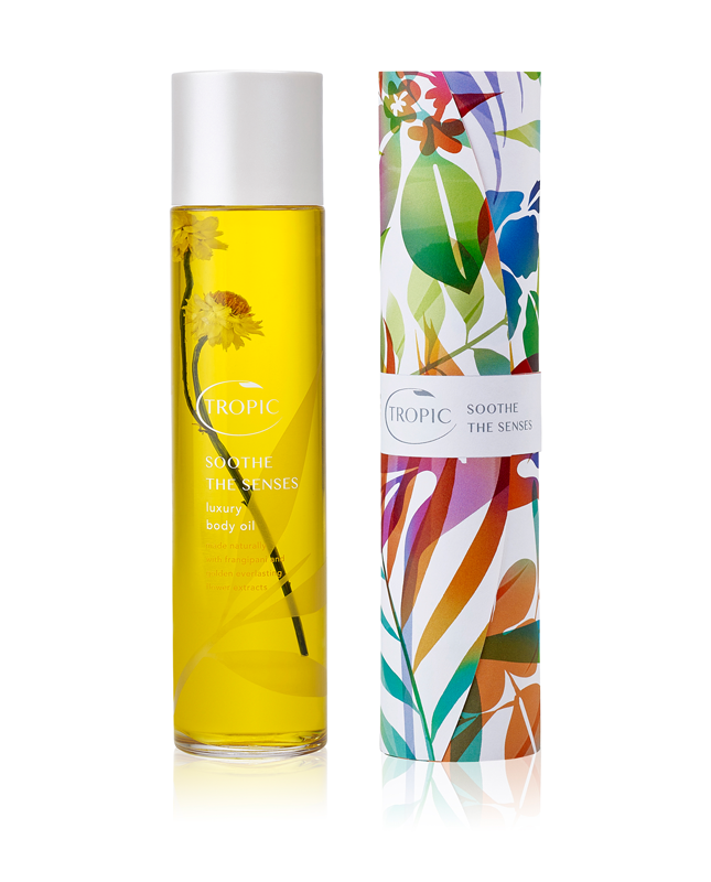 Tropic Skincare Soothe The Senses Luxury Body Oil