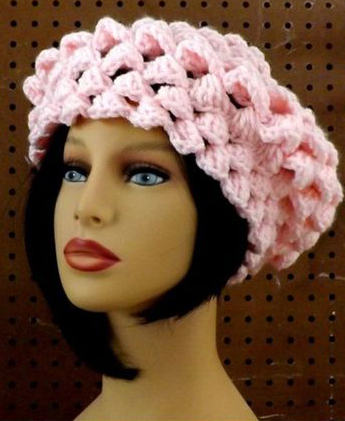 Strawberry Couture Lena Crochet Beret