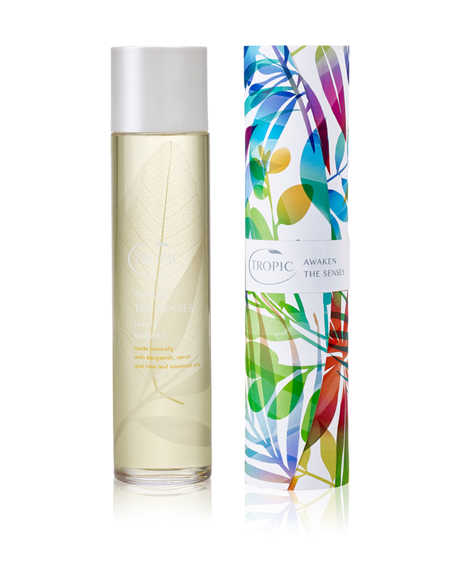 Tropic Skincare Awaken The Senses Luxury Body Oil